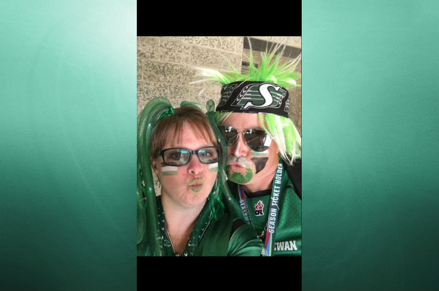 Rider fan Ron Cameron. (Submitted via Facebook)