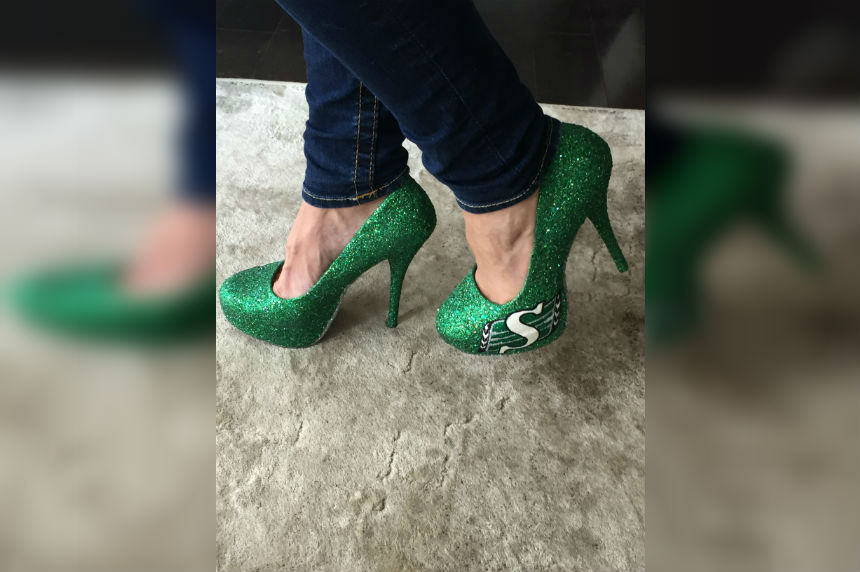 Toronto fan pulls out 'lucky Rider shoes' for east final