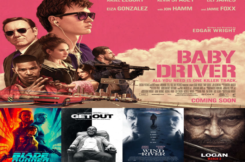 Top 5 best movies of 2017: 980 CJME Brett Buster