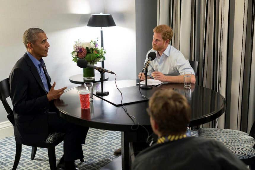 Obama to Prince Harry: Leaders must use care on social media