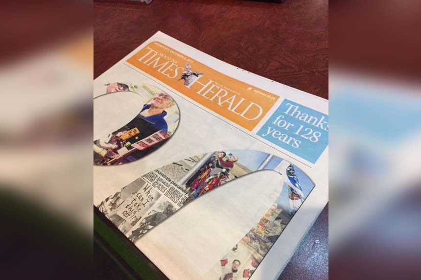 Moose Jaw Times-Herald shuts its doors after 128 years