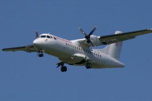 Example of ATR 42 turboprop plane - wikipedia commons - Dec 2017