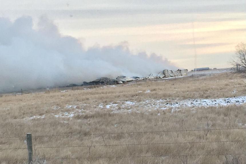 Fire destroys chicken barns near Regina Beach