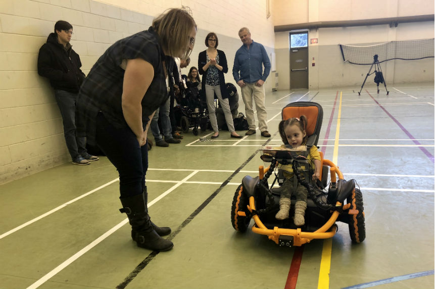 Modified toy cars give kids with disabilities independence