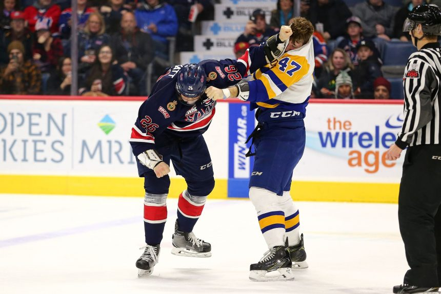 Blades defeat Pats in overtime thriller