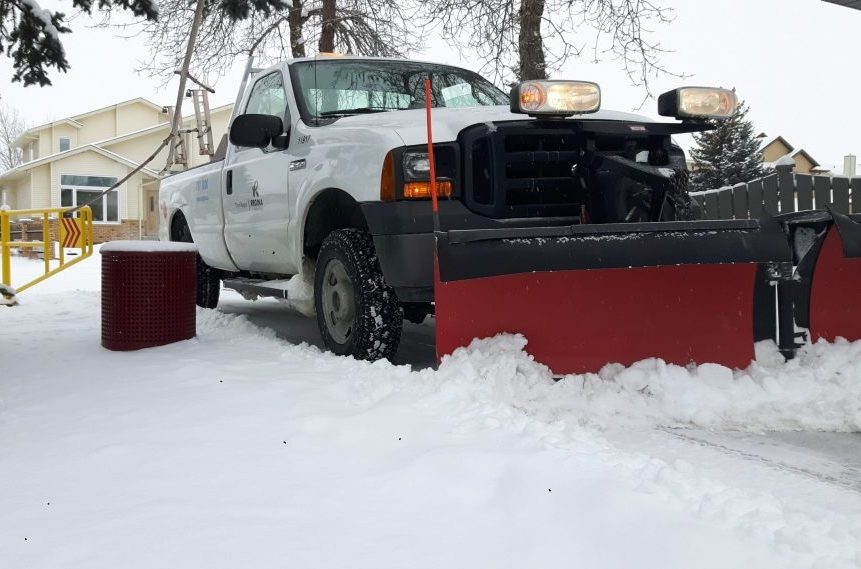 Regina map shows park pathways clear of snow