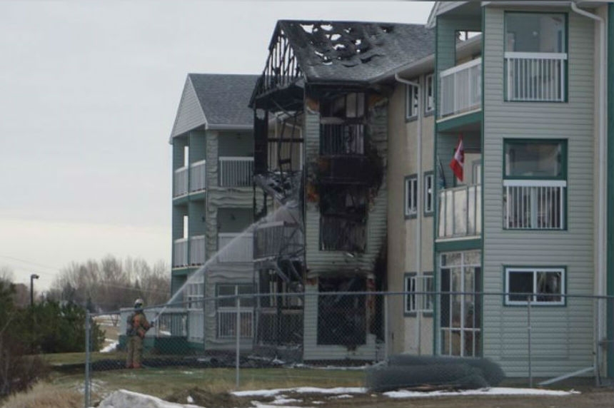 Red Cross helps people displaced by Moose Jaw apartment fire