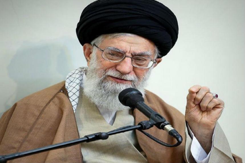 Iran's top leader blames protests on meddling by 'enemies'