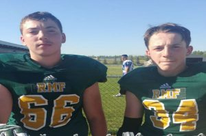 Football Preemie Family Lane and Parker Smaltz 2