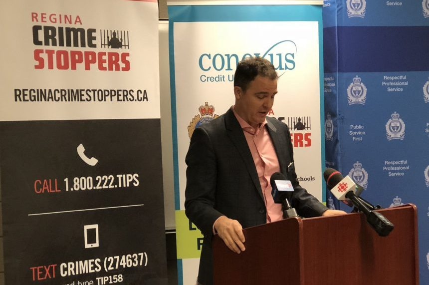 Fewer cases solved, but tips up for Regina Crime Stoppers
