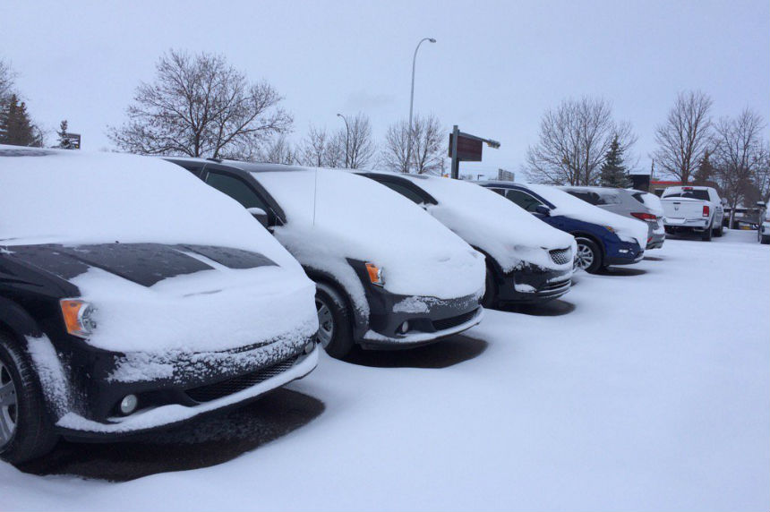 Snow, rain lead to poor driving conditions across southern Sask.