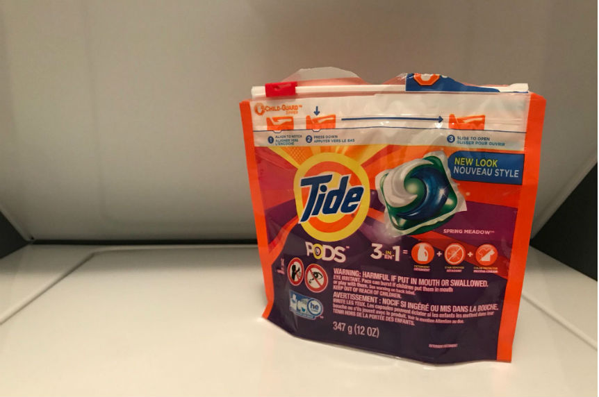 Students talking about Tide pod challenge: Social worker