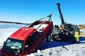 Trucks through ice 4 - Tyler Temple Facebook