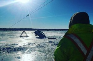 Trucks through the ice 2 - Tyler Temple - Facebook