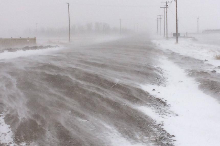 90 km/h winds expected for Saskatoon, Regina