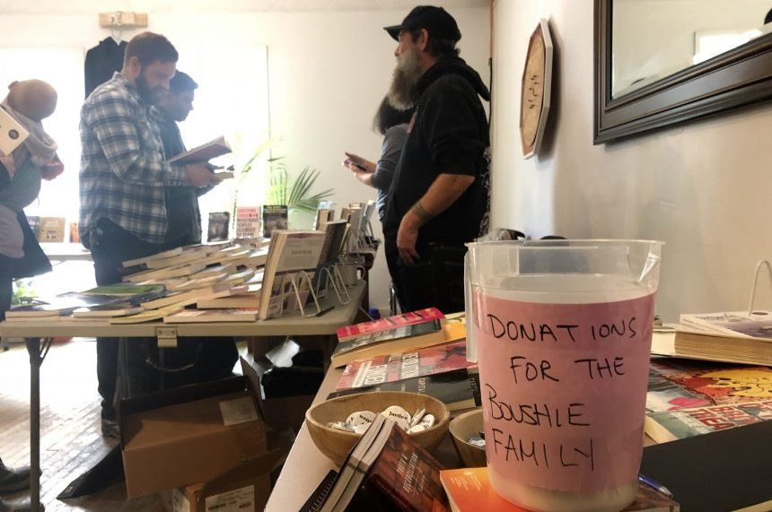 Regina bookstore donates profits to Boushie family before trial