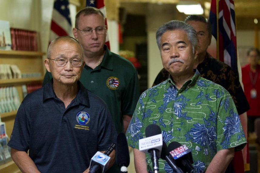 'We made a mistake' Hawaii sends false missile alert