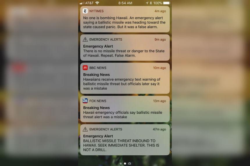Sask. people vacationing in Hawaii react to emergency alert