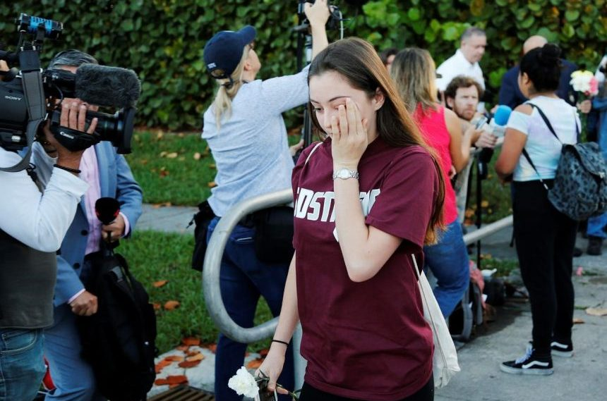 Florida students return to 'picture of education in fear'