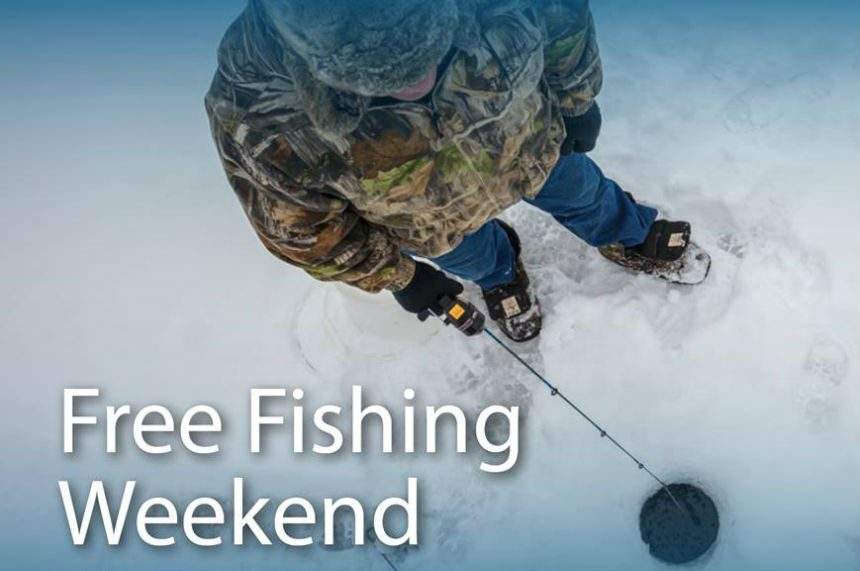 Free fishing in Saskatchewan for Family Day weekend