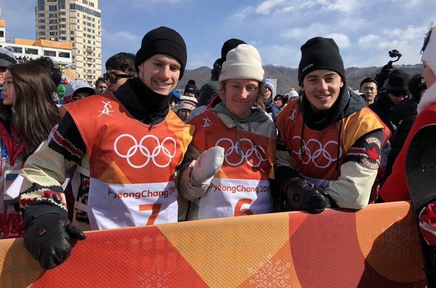 Snowboarders Parrot and McMorris capture silver and bronze at Pyeongchang Olympics