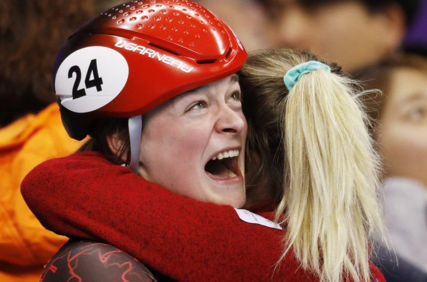 Canada's Boutin wins silver in women's 1,000 short track