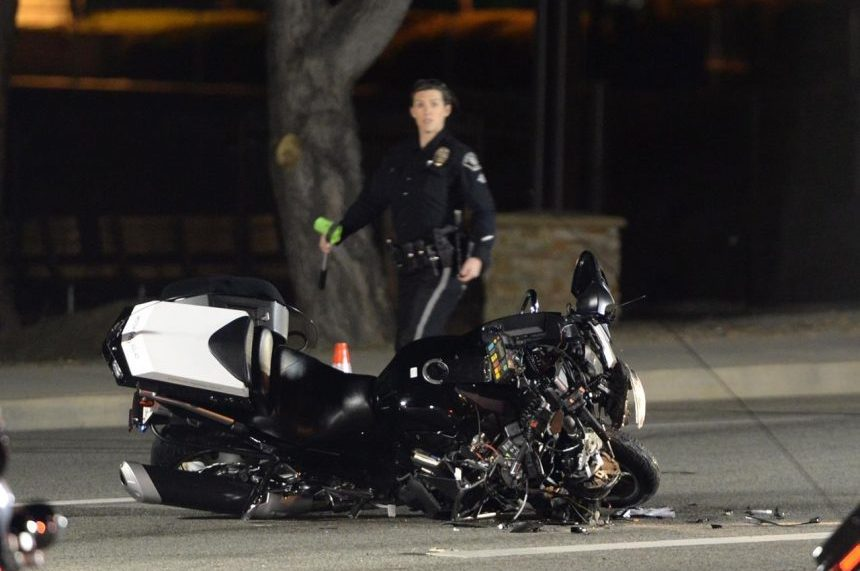 Police officer in Trudeau motorcade seriously injured in crash in California