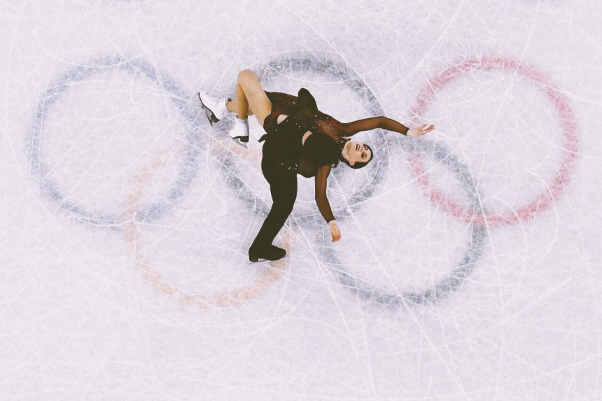 French ice dancers pipped for gold after bouncing back from wardrobe malfunction