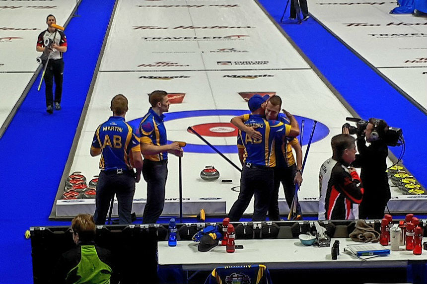 Alberta moves on to play Gushue in Brier finals