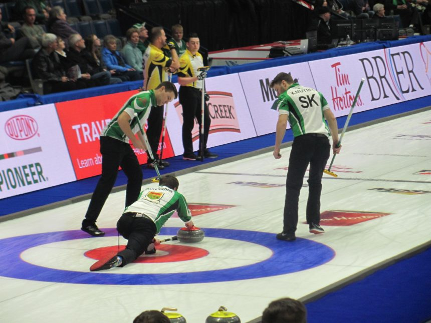 Sask. earns 1st win in strong 9-4 display over N.B.