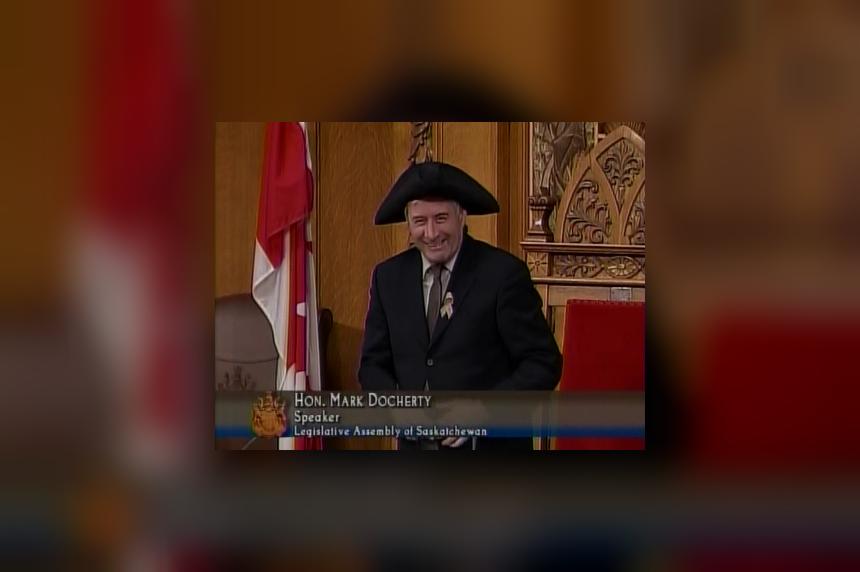 Regina MLA Mark Docherty elected speaker of Sask legislature