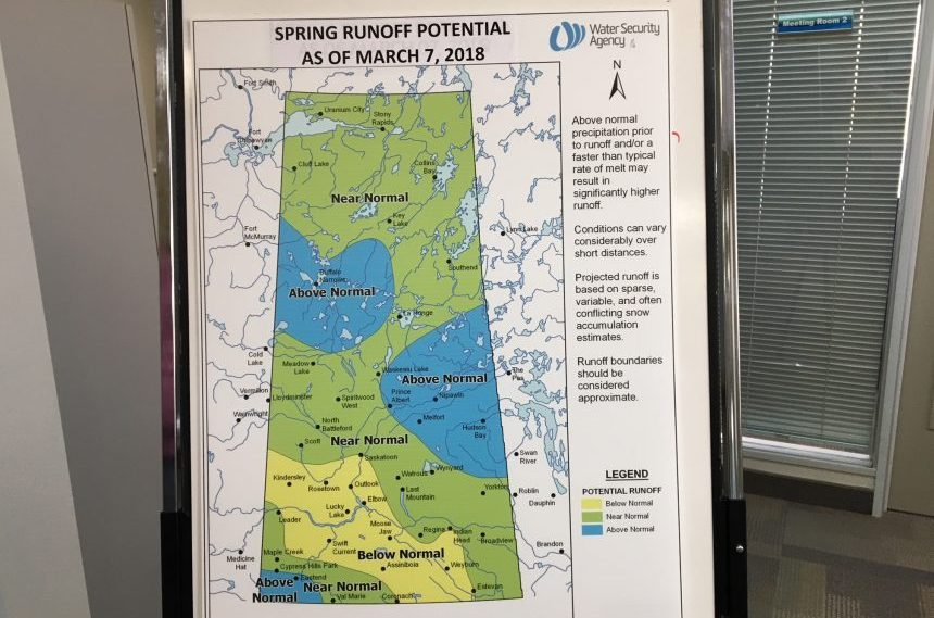 Spring runoff improves with early March snowstorm in Saskatchewan