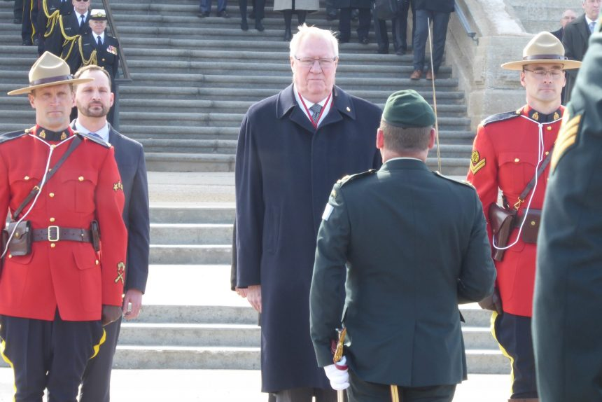Thomas Molloy sworn in as lieutenant-governor of Saskatchewan