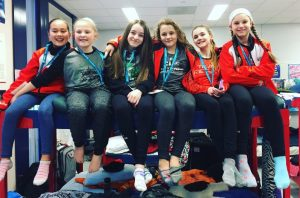 Regina figure skaters at Sask Winter Games - Christine Laprairie Submitted