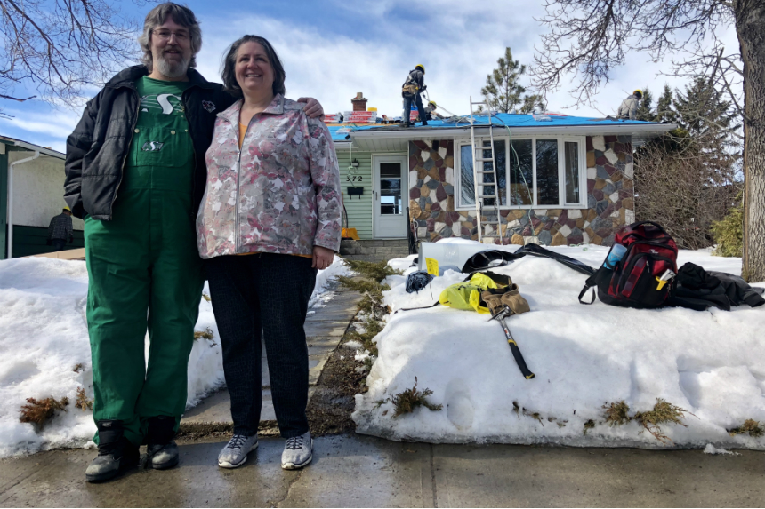 Regina couple has 'peace of mind' after receiving new roof
