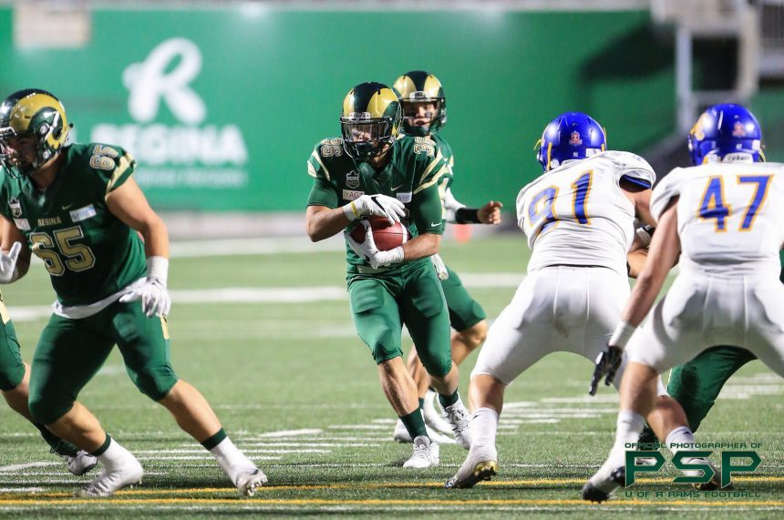 U of R rusher Atlee Simon excited for CFL combine