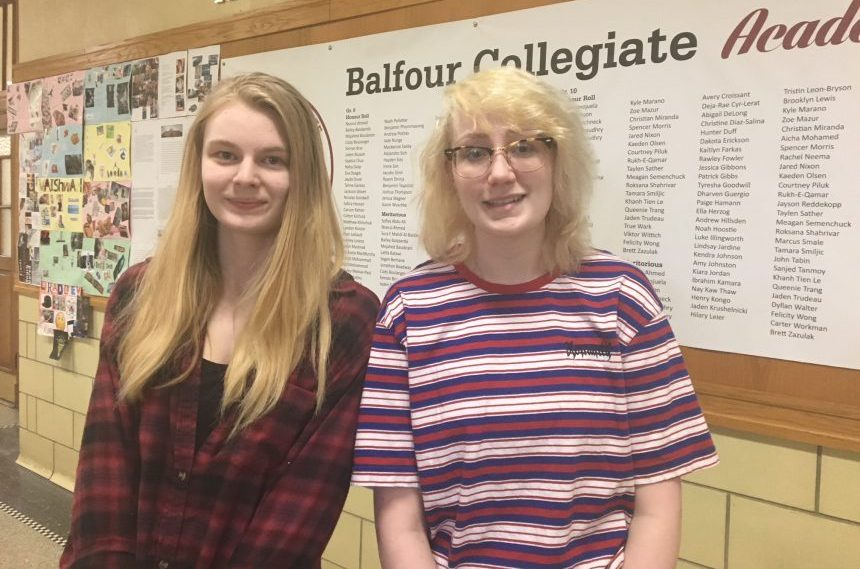 Teens talk mental health at Balfour Collegiate conference