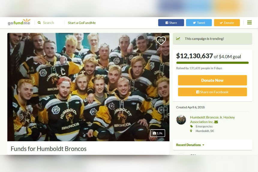 Toronto Raptors And Drake Honour Humboldt Broncos Victims