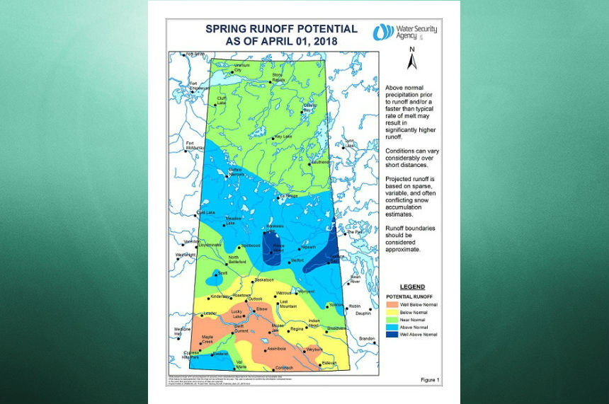 Late spring snow changes runoff picture for Sask.