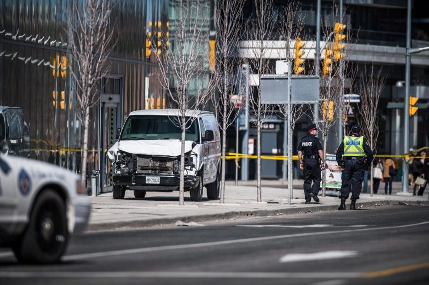 Van attack accused was briefly in Armed Forces, officials say