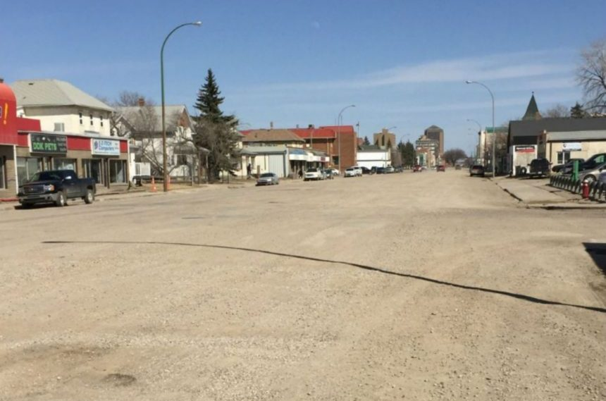 Moose Jaw takes over unfinished High St. construction