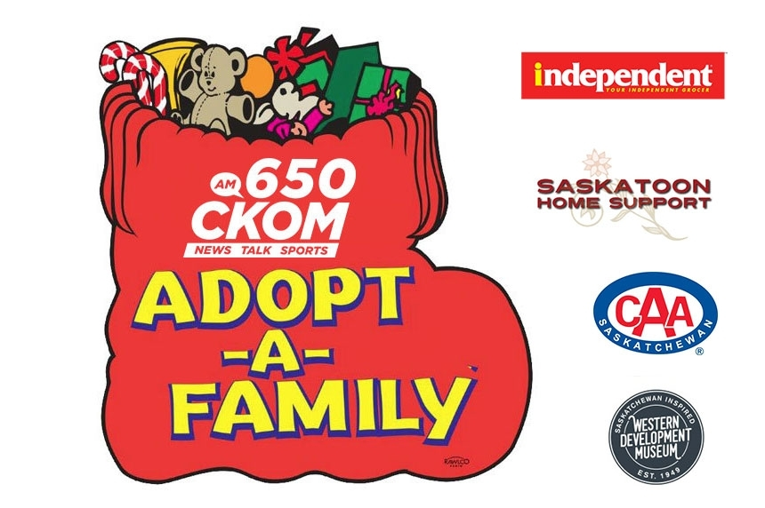 2016 - Adopt a Family - Logo with sponsors