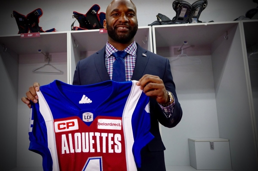 Alouettes 'wanted me here': Durant officially signs contract in Montreal