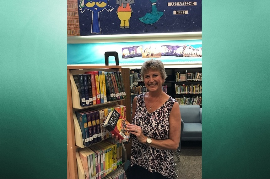 Wildwood School librarian retires after 34 years of service