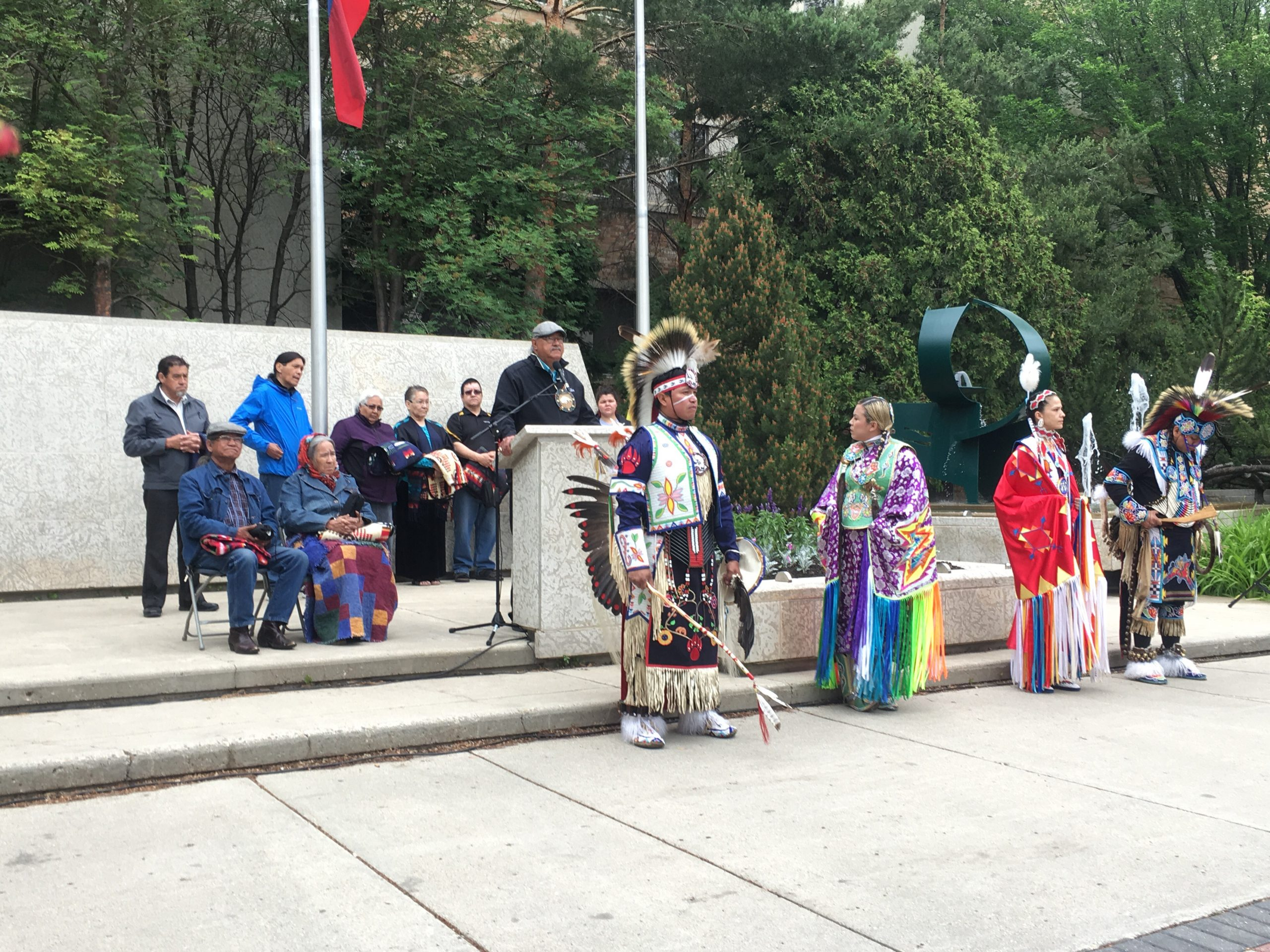 'Healing process:' Reconciliation flag raised in Saskatoon
