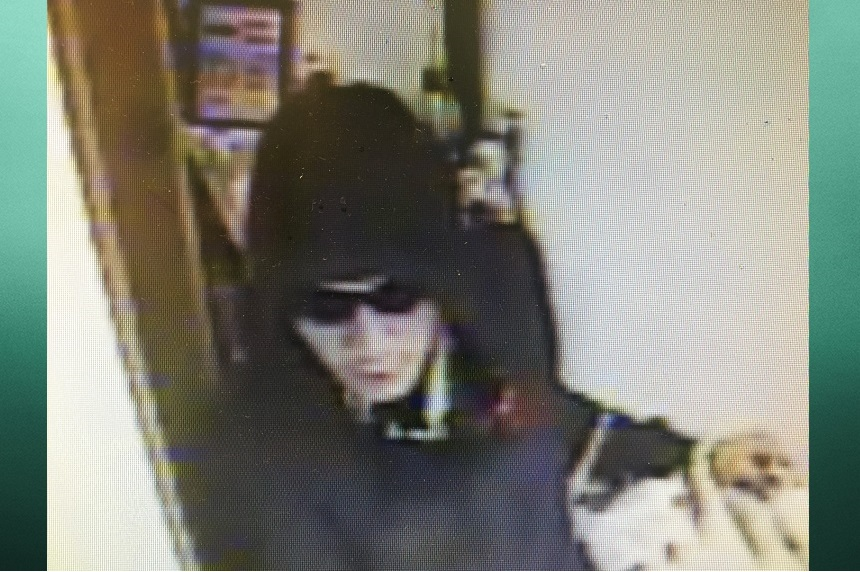 La Ronge RCMP are looking for this man in connection to an armed robbery June 27, 2017 (Submitted/La Ronge RCMP)