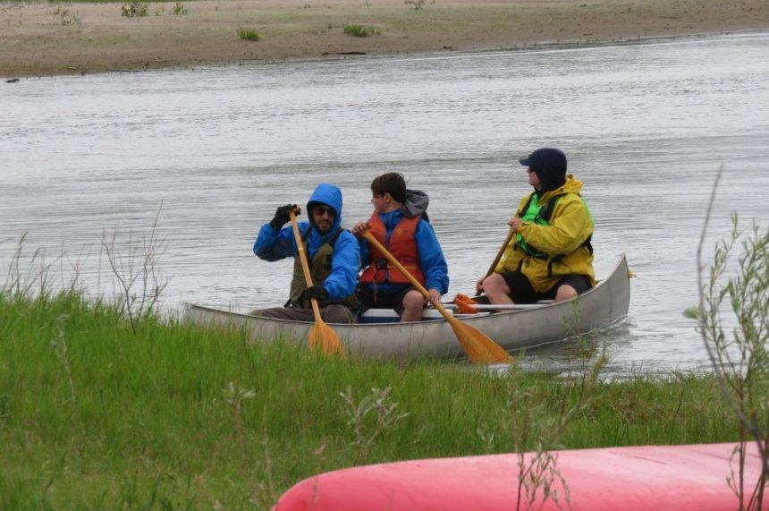 Paddle Palooza splashes off on the South Sask.