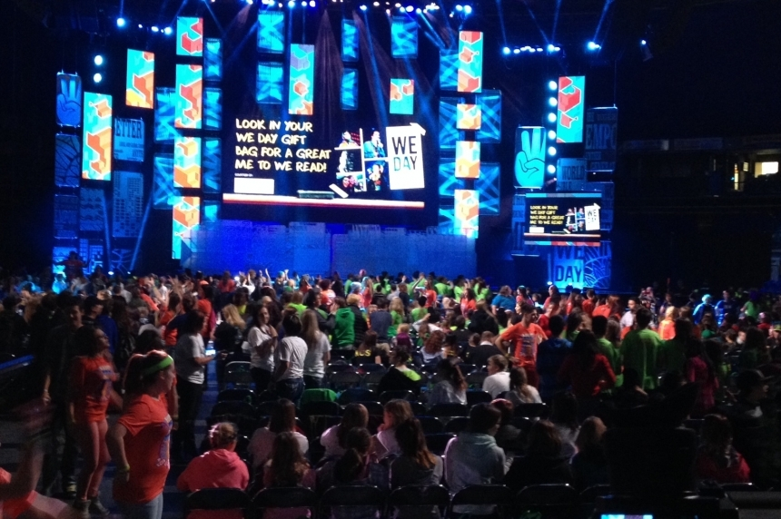 We Day Saskatchewan cancelled due to funding shortage