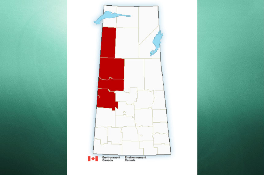Heat warning for north, southeast Sask.
