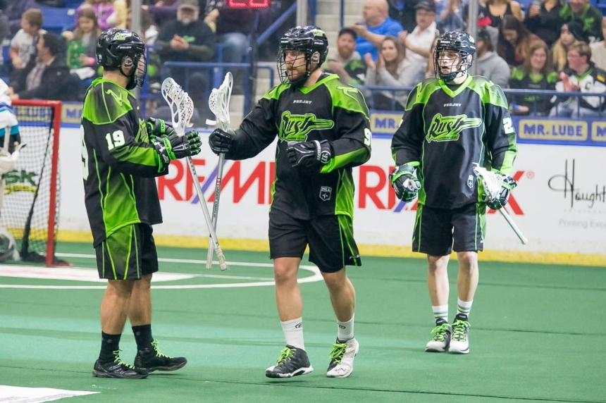 Rush fight for 1st in the NLL with final 2 regular season games